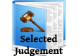 Selected Judgement